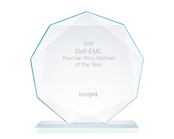 Dell EMC Premier Plus Partner of the Year award