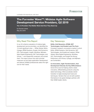 Cover to Forrester: The Forrester Wave, which you can register to download from this page