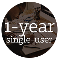 1-year single-user subscription of AutoCAD