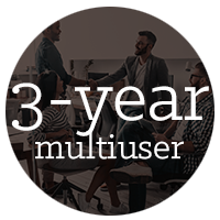 3-year multiuser subscription of AutoCAD
