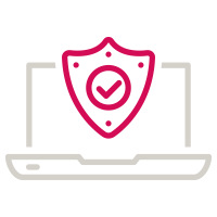 Computer security icon
