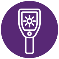 Temperature monitoring icon