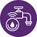 Water maintenance icon