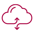 Cloud enablement icon