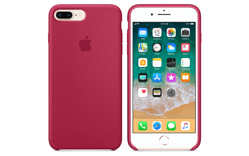 Apple red iphone case