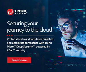 Ad: Trend Micro. Securing your journey to the cloud. Learn more