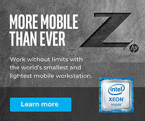 Ad: HP Z: More mobile than ever. Learn more