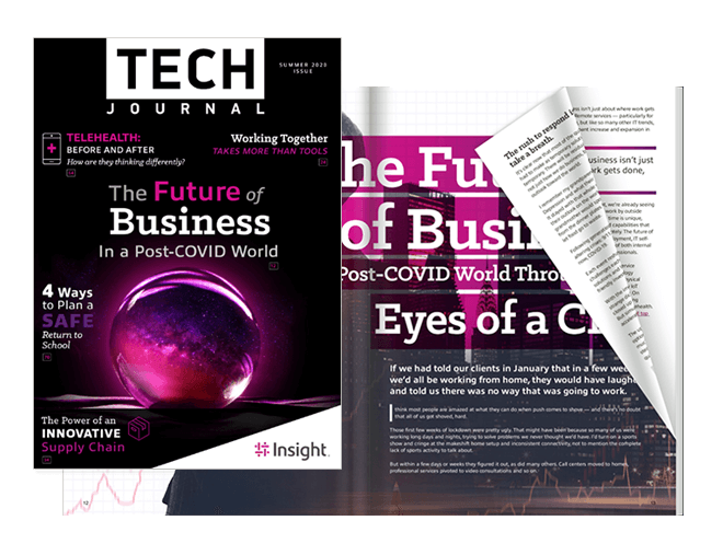 Cover of the Tech Journal Summer 2020
