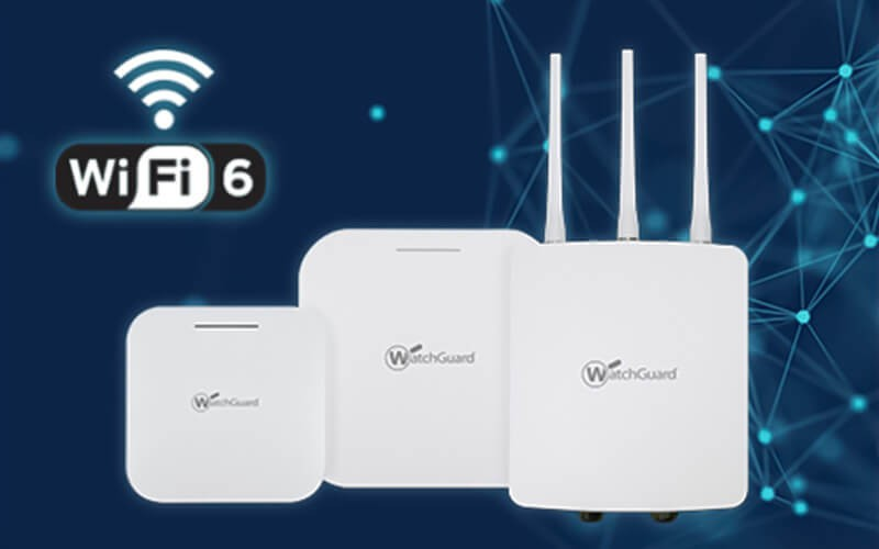 WatchGuard access points family